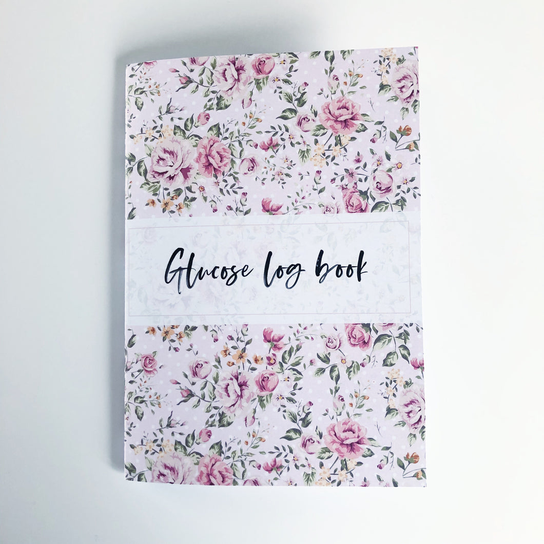 Glucose log notebook