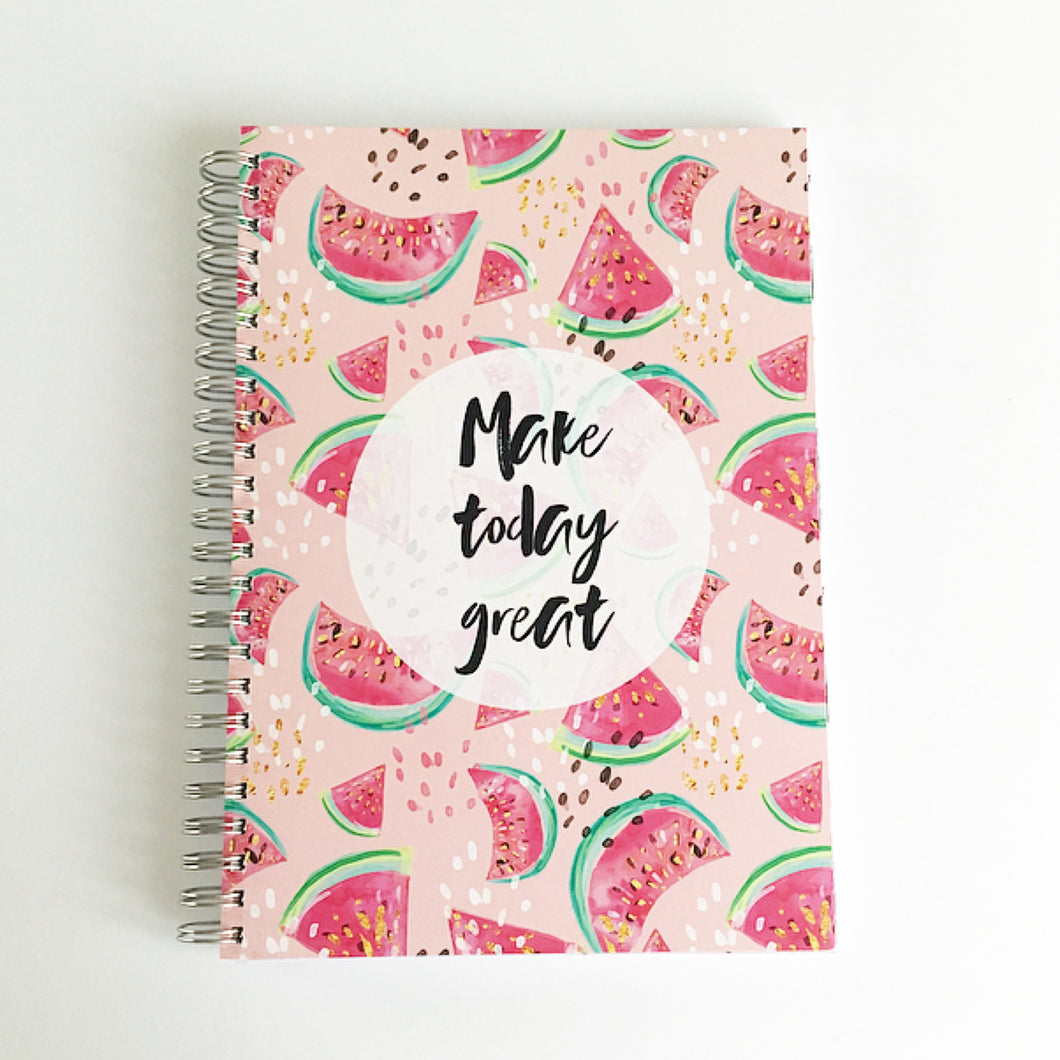 Make today great planner