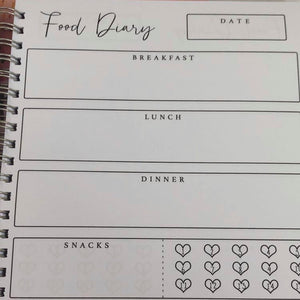 Remember why you started food diary