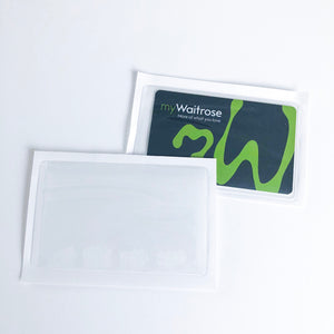 Membership card pouch