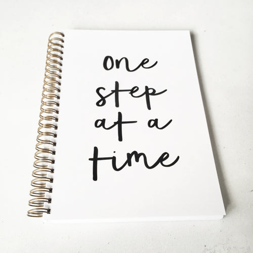 One step at a time planner