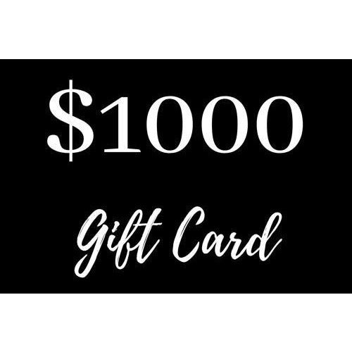$1000 Gift Card - Maison De Luxe French Interiors