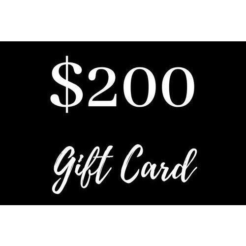 $200 Gift Card - Maison De Luxe French Interiors
