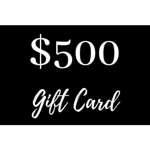 $500 Gift Card - Maison De Luxe French Interiors