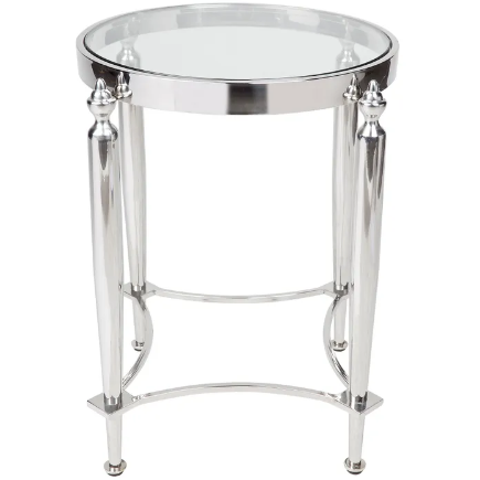 Montgomery Side Table Silver