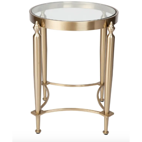 Montgomery Side Table Gold