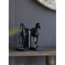Load image into Gallery viewer, Le Equine Bookends Noir