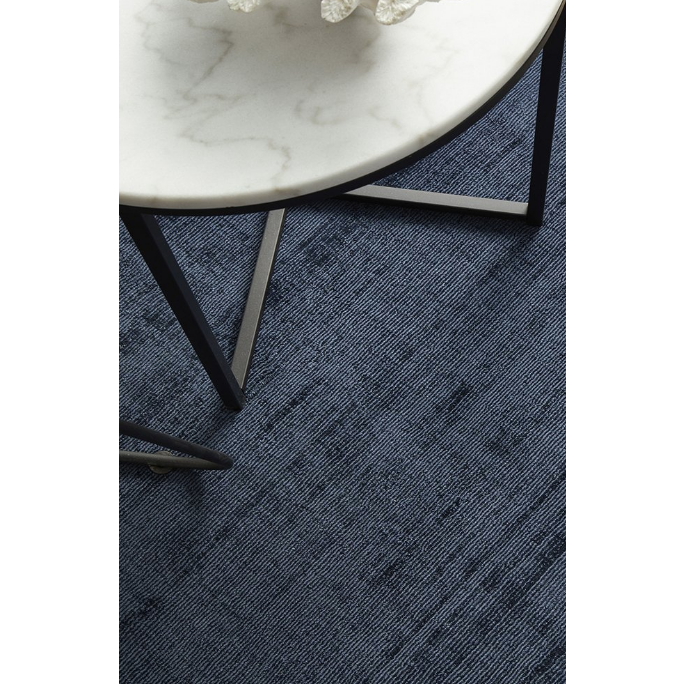 Lustre Rug French Navy