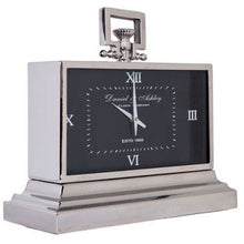 Load image into Gallery viewer, Daniel & Ashley Mantle Clock Noir - Maison De Luxe French Interiors