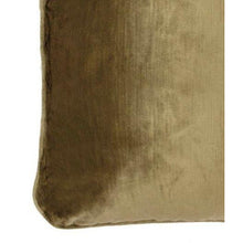 Load image into Gallery viewer, Darcy Cushion Antique Gold with Gold Trim - Maison De Luxe French Interiors