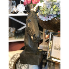 Load image into Gallery viewer, Le Noir Horse Head - Maison De Luxe French Interiors
