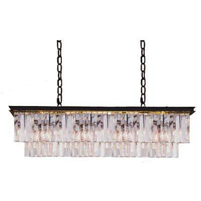 Manor Oblong Chandelier - Maison De Luxe French Interiors