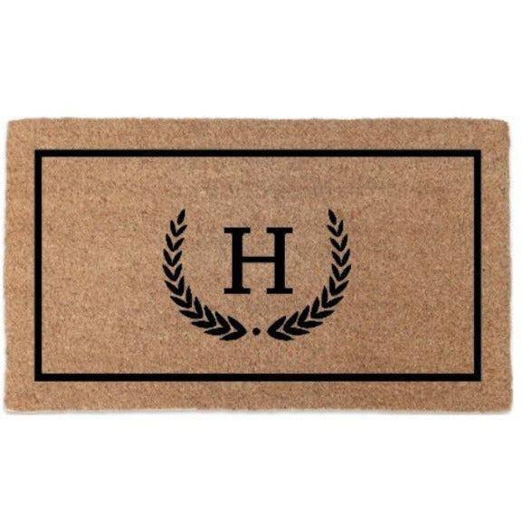 Manor Personalised Doormat - Maison De Luxe French Interiors