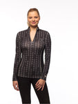 GOODERIDER IDEAL SHOW SHIRT - BLACK BITS