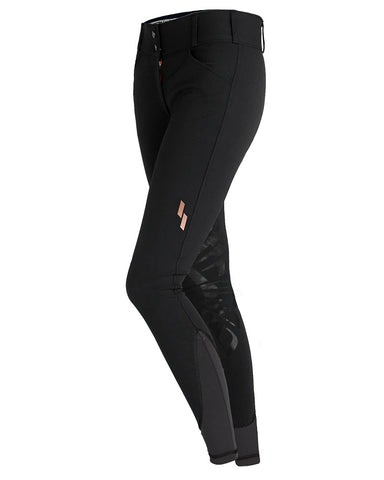 Struck - Schooling Breech - Black with Rose gold