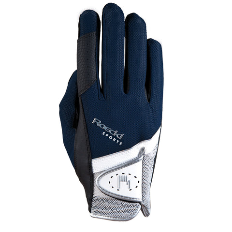 Roeckl Madrid ladies Glove - Navy