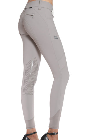 GhoDhp Tinley Show Breech - Tan with Silicone Knee Patch
