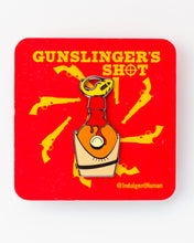 Gunslinger's Shot Pin