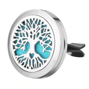 Tree of Life Stainless Steel Car Diffuser