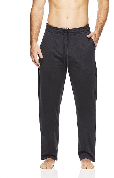 Gaiam Men's Restorative Fleece Yoga Pants - Performance Running & Workout...