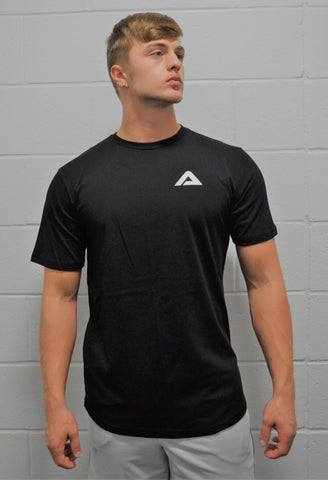 Iconic Scoop Tee - Black