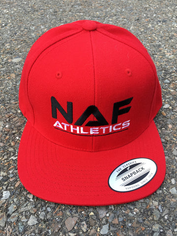 Original Snap-back - Red (Black/White)