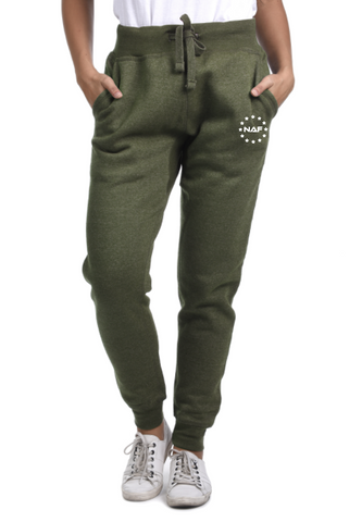 Aesthetic Joggers - Olive