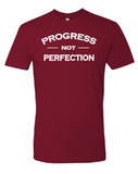 Progress Tee - Maroon