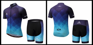 Andy Cycle Set w/shorts - Black/Blue - Deluxe Riders
