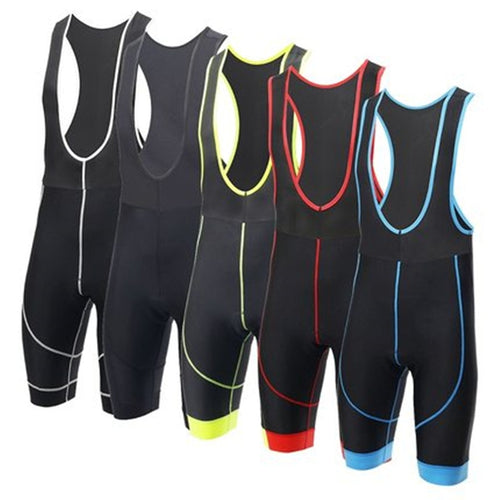 Women Cycling Bib Shorts - 3D Breathable Silicone Pad
