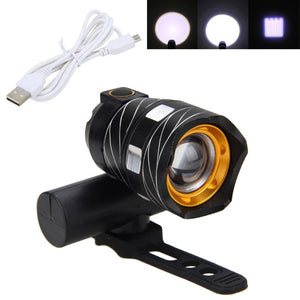 V7 Waterproof & Rechargeable Bike Light - Deluxe Riders