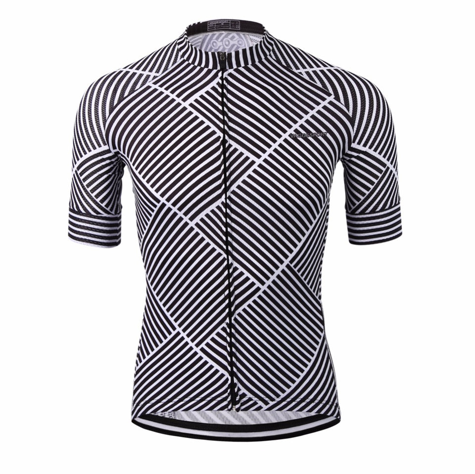 Men's Cycle Jersey ~ Short Sleeve, Sublimation - Deluxe Riders