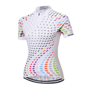 Women's Cycle Jersey ~ Short Sleeve, Dreamy - Deluxe Riders