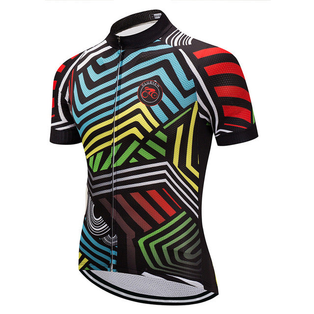 Men's Cycle Jersey ~ Short Sleeve, Kozlowski - Deluxe Riders