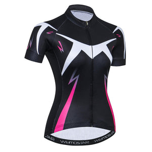 Women's Cycle Jersey ~ Short Sleeve, Slash - Deluxe Riders
