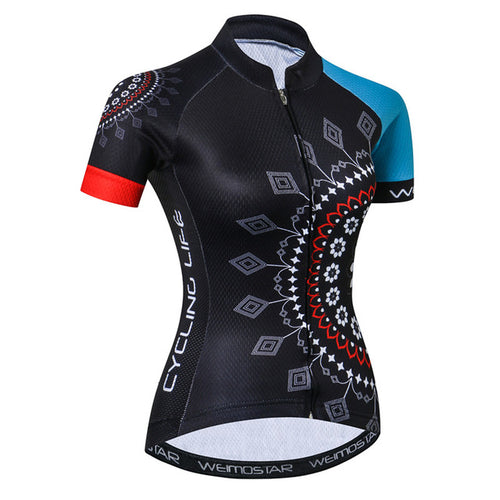 Women's Cycle Jersey ~ Short Sleeve, Nema - Deluxe Riders