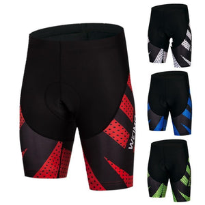 Men's Cycle Shorts ~ 4D Gel Pad, 4 Color Treads - Deluxe Riders