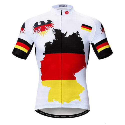 Men's Cycle Jersey ~ Short Sleeve, Germany 3 Styles - Deluxe Riders