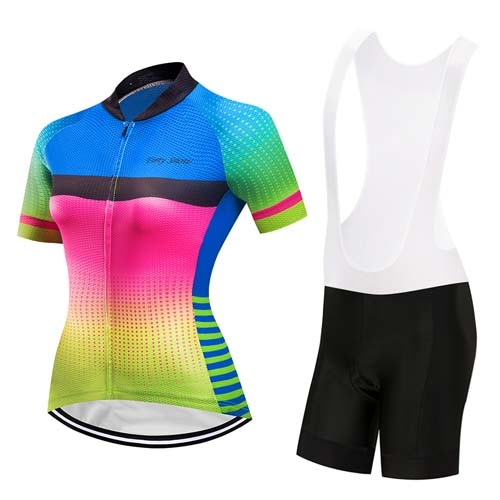 Womens Cycle Skinsuit ~ Shorts Kit -OR- Bib, Aero TN - Deluxe Riders