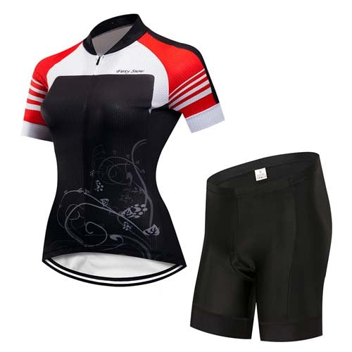 Womens Cycle Skinsuit ~ Shorts Kit -OR- Bib, Aero TR - Deluxe Riders
