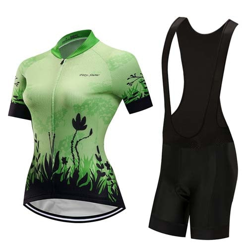 Womens Cycle Skinsuit ~ Shorts Kit -OR- Bib, Aero TG - Deluxe Riders