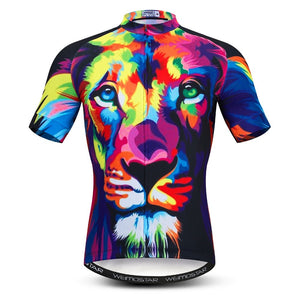 Men's Cycle Jersey ~ Short Sleeve, Animals ~ 12 Styles - Deluxe Riders