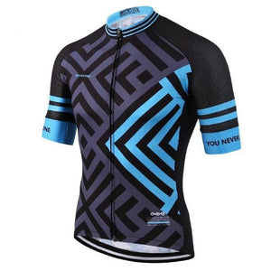 Men's Cycle Jersey ~ Short Sleeve, Dagger - Deluxe Riders