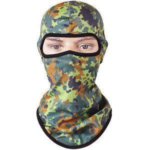 Weim Camo Quick-dry Full Mask - Deluxe Riders