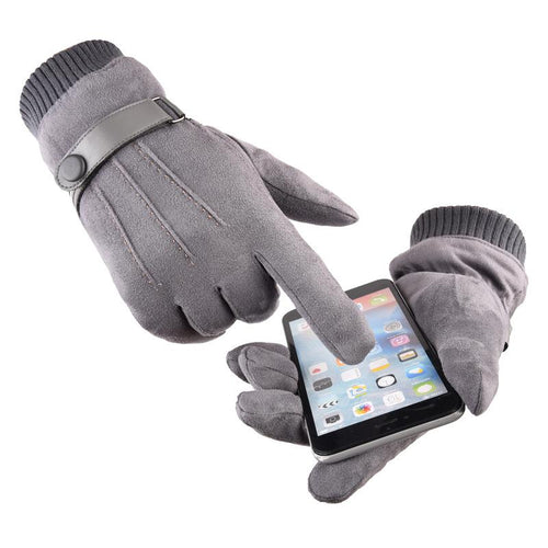 Gloves ~ Thermal Touch Screen, 4 Colors - Deluxe Riders