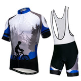 Men's Cycle Kit -OR- Bib Shorts ~ Focus B - Deluxe Riders