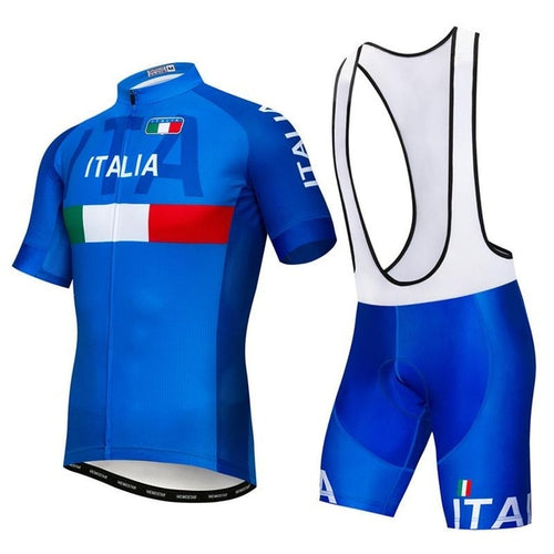 Men's Cycle Kit -OR- Bib Shorts ~ Italia 4 options - Deluxe Riders