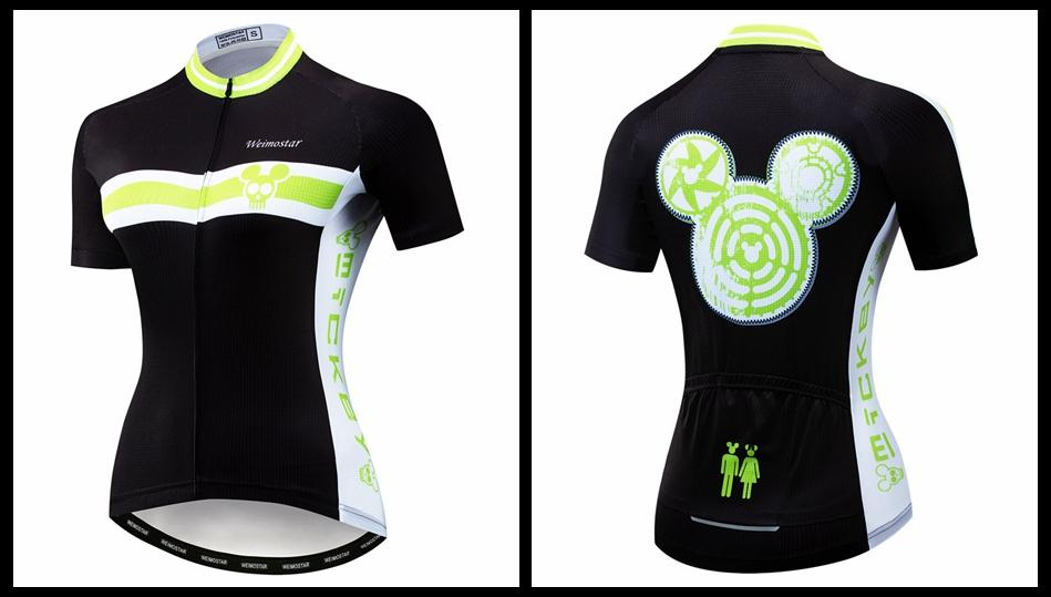 Women's Cycle Jersey ~ Short Sleeve, Mickyo - Deluxe Riders