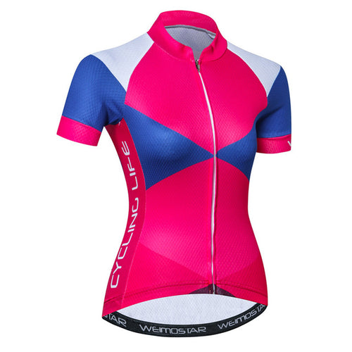 Women's Cycle Jersey ~ Short Sleeve, CLB - Deluxe Riders
