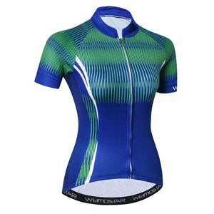 Women's Cycle Jersey ~ Short Sleeve, Coolio - Deluxe Riders